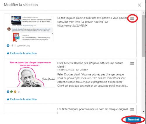 Comment ajouter une nouvelle sélection « épinglée » pour optimiser un profil LinkedIn ? 16