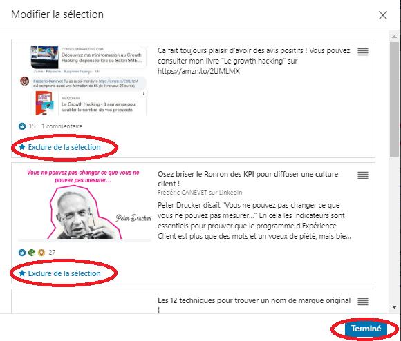 Comment ajouter une nouvelle sélection « épinglée » pour optimiser un profil LinkedIn ? 14