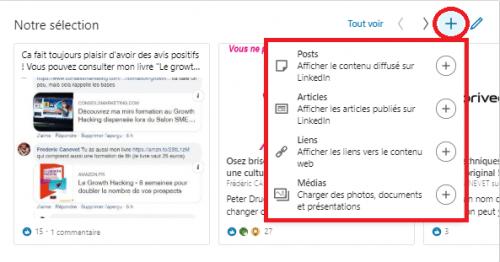 Comment ajouter une nouvelle sélection « épinglée » pour optimiser un profil LinkedIn ? 6