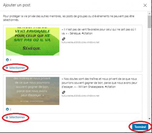 Comment ajouter une nouvelle sélection « épinglée » pour optimiser un profil LinkedIn ? 8