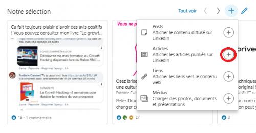 Comment ajouter une nouvelle sélection « épinglée » pour optimiser un profil LinkedIn ? 9