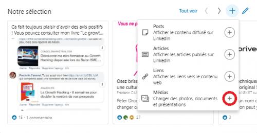 Comment ajouter une nouvelle sélection « épinglée » pour optimiser un profil LinkedIn ? 13