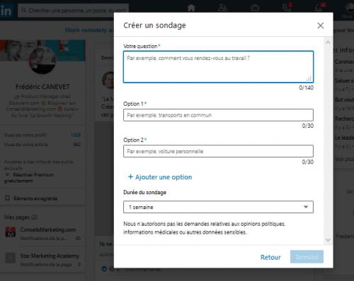 Comment créer un sondage sur Linkedin ? La méthode en 3 étapes ! 6