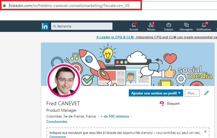 Les 4 étapes pour créer un profil Linkedin en anglais ou dans une autre langue ! 10