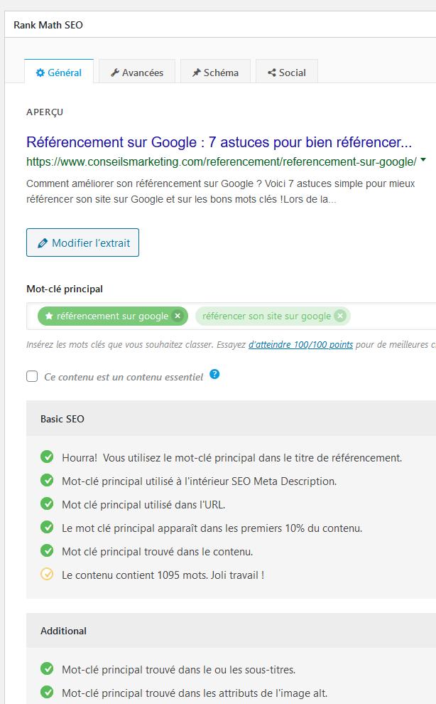 Référencement sur Google : 6 astuces pour bien référencer son site sur Google et choisir les bons mots clés ! 22