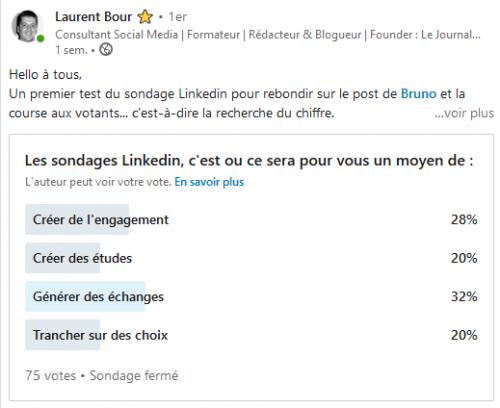 Comment créer un sondage sur Linkedin ? La méthode en 3 étapes ! 22