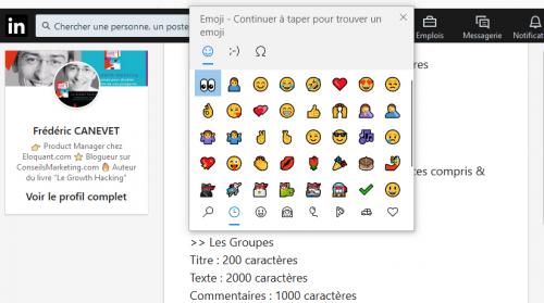 Utilisezles caractères spéciaux dans LinkedIn pour sortir du lot ! 7
