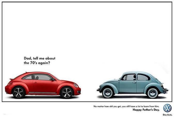 Les 25 publicités les plus créatives sur la Fête des Pères - Father's Day creative ads 8