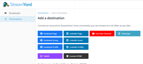 Comment faire un Facebook Live, Youtube Live ou Linkedin Live? La méthode pas à pas avec Be.live ! 42