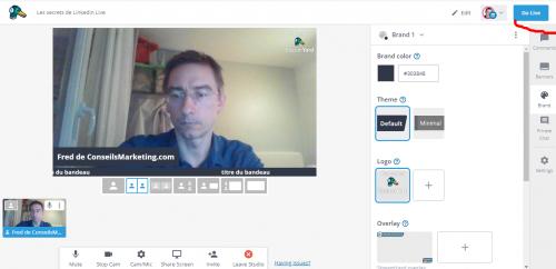 Comment faire un Facebook Live, Youtube Live ou Linkedin Live? La méthode pas à pas avec Be.live ! 54