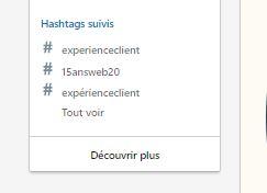 Utilisez les Hashtags LinkedIn pour être plus visible sur Linkedin ! 14