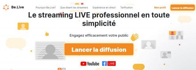 Comment faire un Facebook Live, Youtube Live ou Linkedin Live? La méthode pas à pas avec Be.live ! 12