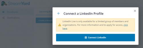 Comment faire un Facebook Live, Youtube Live ou Linkedin Live? La méthode pas à pas avec Be.live ! 44