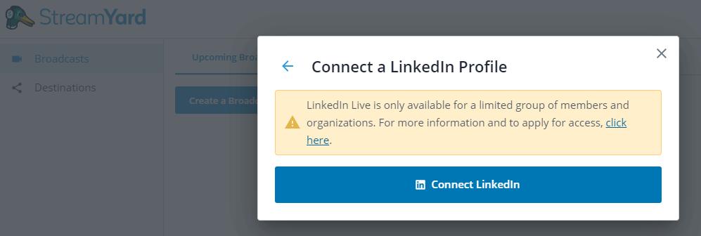 Comment faire un Facebook Live, Youtube Live ou Linkedin Live? La méthode pas à pas avec Be.live ! 40