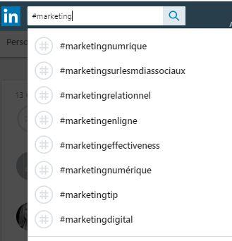 Utilisez les Hashtags LinkedIn pour être plus visible sur Linkedin ! 24