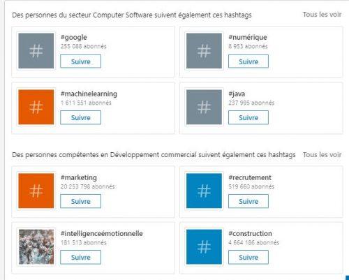 Utilisez les Hashtags LinkedIn pour être plus visible sur Linkedin ! 16