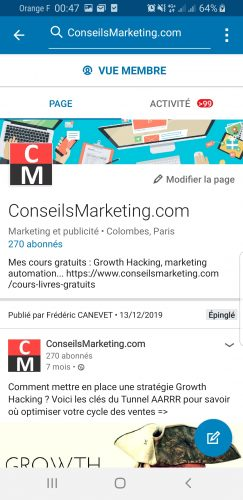Comment faire une Story Linkedin ? 9