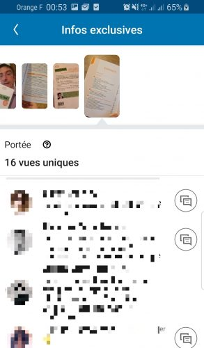 Comment faire une Story Linkedin ? 7