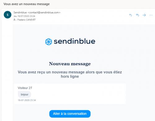 Comment installer un Chat Live Wordpress ? Voici le Tuto avec Sendinblue en 10 minutes Chrono ! 5
