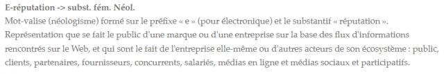 eRéputation en entreprise : l'état des lieux dans les entreprises Françaises ! 7