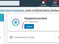 Utilisez les Hashtags LinkedIn pour être plus visible sur Linkedin ! 1