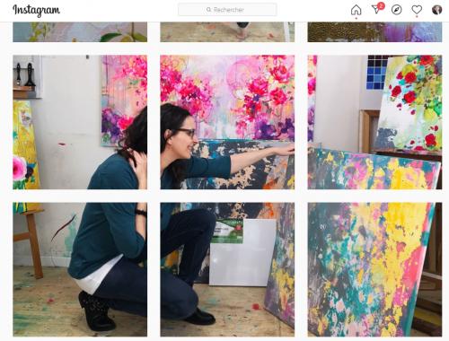 11 conseils pour se faire connaître en tant qu'artiste peintre via Instagram - Instagram artiste peintre! 11