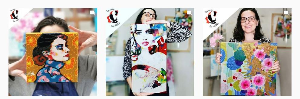 11 conseils pour se faire connaître en tant qu'artiste peintre via Instagram - Instagram artiste peintre! 7
