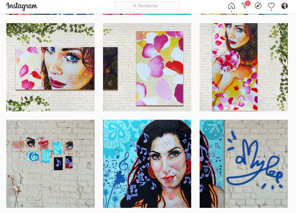 11 conseils pour se faire connaître en tant qu'artiste peintre via Instagram - Instagram artiste peintre! 3