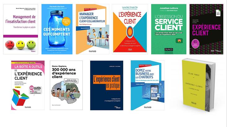 La bibliothèque de l'Expérience Client : ma sélection des 10 meilleurs livres sur la Relation Client 1