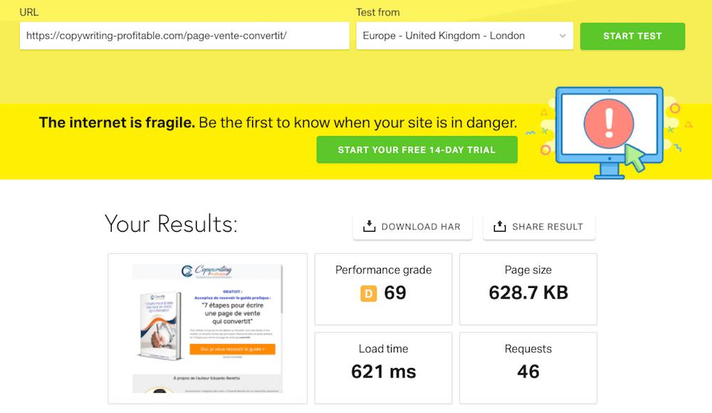 Ma landing page convertit à 74,17% ! Voici tous ses secrets - Exemple de Landing Page Wordpress 6