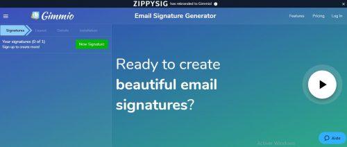 Les 22 meilleurs logiciels pour créer une signature d'email + Modèle signature mail 34