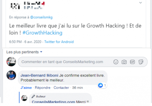 """La Seconde Edition de mon Livre """"Le Growth Hacking"""" vient de sortir... plus de 30% du livre a été totalement ré-écrit ! 19"""