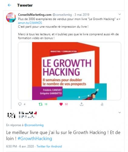 """La Seconde Edition de mon Livre """"Le Growth Hacking"""" vient de sortir... plus de 30% du livre a été totalement ré-écrit ! 26"""
