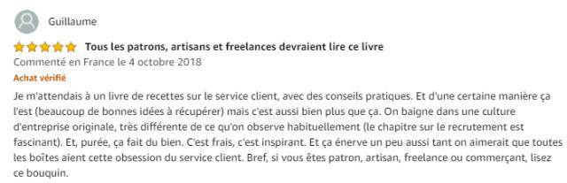 L'obsession du service client : transformez votre service client en avantage concurrentiel -  Jonathan Lefèvre 8