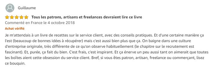 L'obsession du service client : transformez votre service client en avantage concurrentiel - Jonathan Lefèvre 4