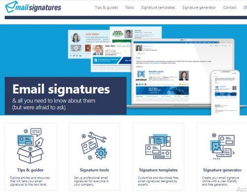 Les 22 meilleurs logiciels pour créer une signature d'email + Modèle signature mail 19