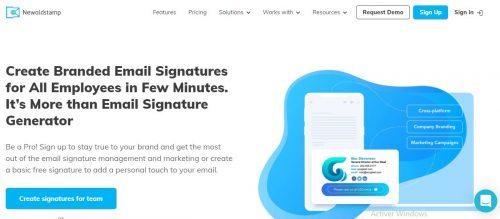 Les 22 meilleurs logiciels pour créer une signature d'email + Modèle signature mail 36
