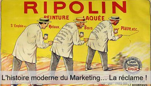 Découvrez l'histoire du Marketing en 1h chrono... de l'antiquité à nos jours ! 19
