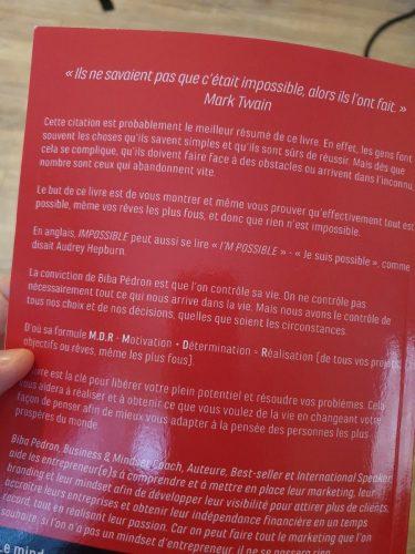 MDR, la formule Gagnante pour réussir sa vie - Le Livre de Biba Pedron 6