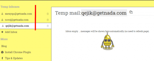 Les 14 meilleurs outils d'email jetable - Email temporaire 26