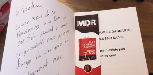 MDR, la formule Gagnante pour réussir sa vie - Le Livre de Biba Pedron 13