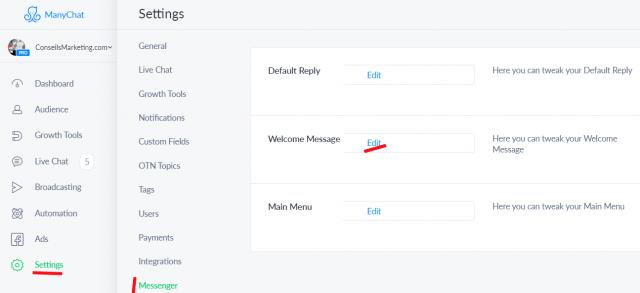 Comment réaliser un Chatbot Messenger qui va séduire vos Fans Facebook ? Voici 7 astuces faciles à mettre en œuvre ! 8