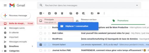 12 conseils pour que vos emails marketing arrivent en boite de réception Principale sur Gmail et pas dans l'onglet Promotion de Gmail ! 36