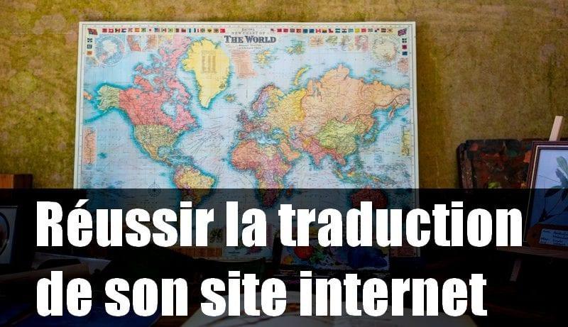 traduction site internet