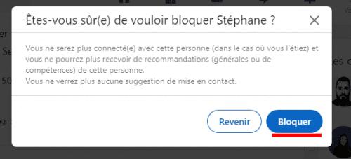 Comment bloquer un contact Linkedin ? Voici comment bloquer une personne, un ex-collègue, son patron, un concurrent... sur Linkedin 7