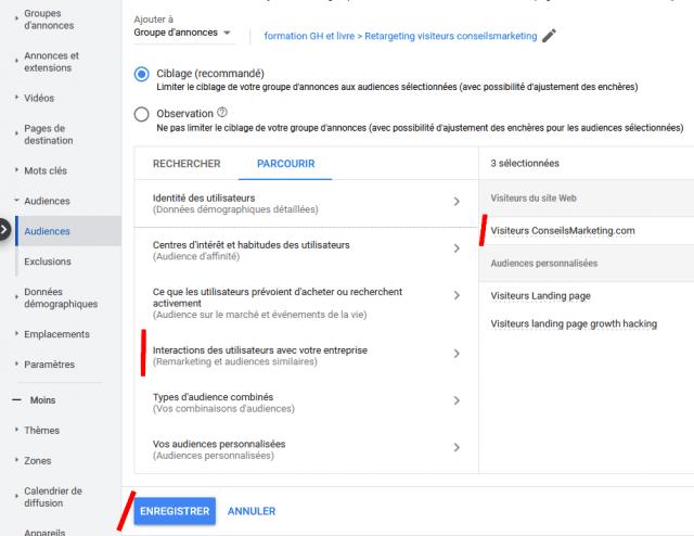 2 campagnes de retargeting Google Ads indispensables pour améliorer la rentabilité de Google Adwords ! 23