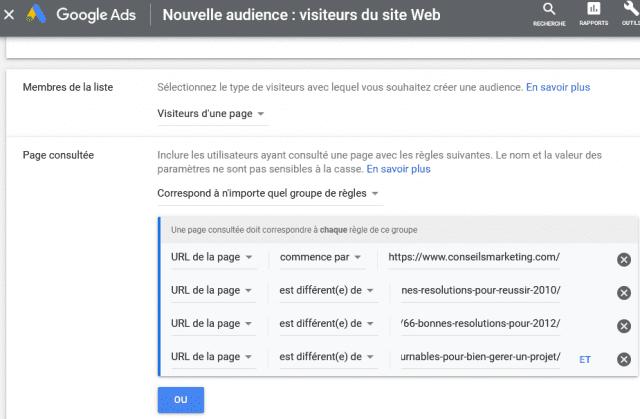 2 campagnes de retargeting Google Ads indispensables pour améliorer la rentabilité de Google Adwords ! 18