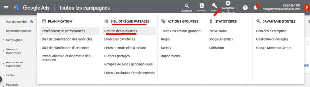 2 campagnes de retargeting Google Ads indispensables pour améliorer la rentabilité de Google Adwords ! 10