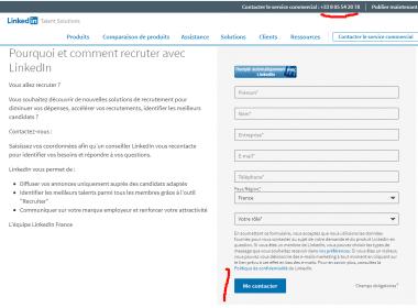 Comment contacter Linkedin ? Quel est l'email ou le numéro de téléphone de Linkedin ? 4