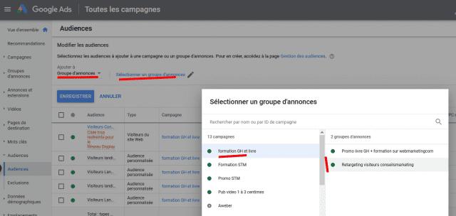 2 campagnes de retargeting Google Ads indispensables pour améliorer la rentabilité de Google Adwords ! 22